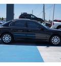 hyundai sonata 2004 black sedan lx gasoline 6 cylinders front wheel drive automatic 77094