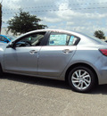 mazda mazda3 2012 silver sedan touring w sunroof gasoline 4 cylinders front wheel drive automatic 32901