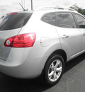 nissan rogue 2010 silver suv sl 4 cylinders automatic 34474