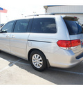 honda odyssey 2010 silver van ex l w dvd gasoline 6 cylinders front wheel drive automatic 77034
