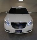 chrysler 200 2012 white sedan lx gasoline 4 cylinders front wheel drive automatic 75219