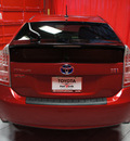 toyota prius 2011 red iii hybrid 4 cylinders front wheel drive automatic 76116
