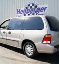 ford windstar 2002 beige van lx gasoline 6 cylinders front wheel drive automatic 80905