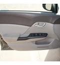 honda civic 2012 dk  gray sedan lx gasoline 4 cylinders front wheel drive automatic 77034