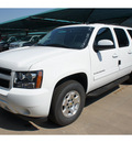 chevrolet suburban 2012 summ white suv ls 1500 flex fuel 8 cylinders 2 wheel drive not specified 76051