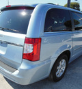 chrysler town and country 2012 lt  blue van touring flex fuel 6 cylinders front wheel drive automatic 34731