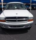 dodge durango 2003 white suv slt plus gasoline 8 cylinders rear wheel drive automatic 76234