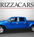 ford f 150 2009 blue xlt flex fuel 8 cylinders 2 wheel drive automatic with overdrive 60546
