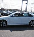 audi s4 2013 white sedan 3 0t quattro premium plus gasoline 6 cylinders all whee drive 7 speed s tronic 46410