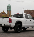 dodge ram 1500 2006 white slt big horn 8 cylinders automatic with overdrive 61832