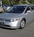 honda civic 2008 silver sedan hybrid hybrid 4 cylinders front wheel drive cont  variable trans  06019