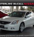 nissan altima 2010 white sedan 3 5 sr gasoline 6 cylinders front wheel drive shiftable automatic 77477
