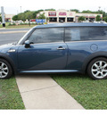 mini cooper clubman 2009 blue hatchback gasoline 4 cylinders front wheel drive 6 speed manual 78748