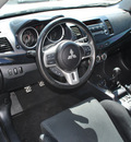 mitsubishi lancer evolution 2012 lt  gray sedan gsr gasoline 4 cylinders all whee drive standard 75062