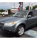 subaru forester 2009 sage green suv 2 5 x premium gasoline 4 cylinders all whee drive automatic 07701