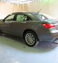 chrysler 200 2013 dk  gray sedan limited flex fuel 6 cylinders front wheel drive automatic 44883