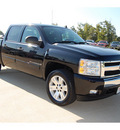 chevrolet silverado 1500 2007 black lt gasoline 8 cylinders rear wheel drive automatic with overdrive 77656