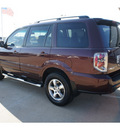 honda pilot 2008 dk  red suv ex l w navi gasoline 6 cylinders front wheel drive automatic 77034