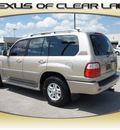 lexus lx 470 1998 beige suv gasoline v8 all whee drive automatic 77546