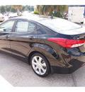 hyundai elantra 2013 black sedan limited gasoline 4 cylinders front wheel drive automatic 77074