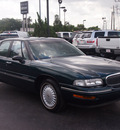 buick lesabre 1999 dark green sedan limited gasoline v6 front wheel drive automatic 77074