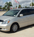 honda odyssey 2007 silver van touring gasoline 6 cylinders front wheel drive automatic with overdrive 77065