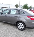 ford focus 2013 gray sedan s flex fuel 4 cylinders front wheel drive 6 speed automatic 77388
