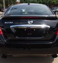 nissan maxima 2009 black sedan 3 5 sv gasoline 6 cylinders front wheel drive automatic 75080