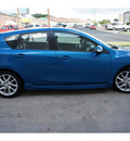 mazda mazda3 2012 blue hatchback s grand touring gasoline 4 cylinders front wheel drive automatic 78757