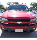 chevrolet trailblazer ext 2004 red suv lt 8 cylinders automatic 78006