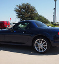 mazda mx 5 miata 2011 dk  blue touring gasoline 4 cylinders rear wheel drive automatic 76018