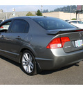 honda civic 2007 dk  gray sedan si w navi gasoline 4 cylinders front wheel drive 6 speed manual 98632