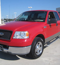 ford f 150 2005 red xlt gasoline 8 cylinders rear wheel drive automatic 77578