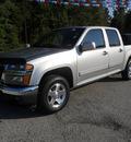 gmc canyon 2012 silver sle 1 gasoline 5 cylinders 2 wheel drive automatic 75657
