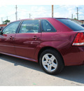 chevrolet malibu maxx 2006 dk  red hatchback lt gasoline 6 cylinders front wheel drive automatic 77020