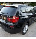 bmw x3 2013 black xdrive28i gasoline 4 cylinders all whee drive automatic 78729