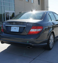 mercedes benz c class 2009 dk  gray sedan c300 4matic sport gasoline 6 cylinders all whee drive shiftable automatic 75070