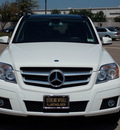 mercedes benz glk class 2010 white suv glk350 4matic gasoline 6 cylinders all whee drive shiftable automatic 77074