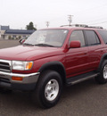 toyota 4runner 1997 red suv sr5 gasoline 6 cylinders 4 wheel drive 5 speed manual 98632