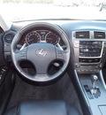 lexus is 250 2008 black sedan gasoline 6 cylinders rear wheel drive shiftable automatic 77074