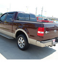 ford f 150 2008 dk  red king ranch flex fuel 8 cylinders 2 wheel drive automatic with overdrive 77642