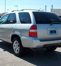 acura mdx 2001 silver suv touring gasoline 6 cylinders 4 wheel drive automatic with overdrive 77074