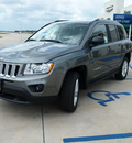 jeep compass 2012 gray suv sport gasoline 4 cylinders 2 wheel drive automatic 76230