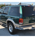 ford explorer 1999 dk  green suv eddie bauer gasoline v8 rear wheel drive automatic 78217