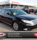 toyota avalon 2012 black sedan limited 6 cylinders automatic 76116