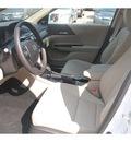 honda accord 2013 white sedan ex l 4 cylinders automatic 77339