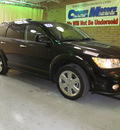 dodge journey 2011 black lux flex fuel 6 cylinders front wheel drive automatic 44883