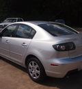 mazda mazda3 2009 silver sedan i sport gasoline 4 cylinders front wheel drive shiftable automatic 77515