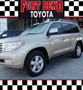 toyota land cruiser 2011 tan suv 4x4 gasoline 8 cylinders 4 wheel drive automatic 77469