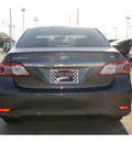 toyota corolla 2013 gray sedan le gasoline 4 cylinders front wheel drive automatic 77469